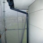外壁排水管・施工前