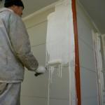 下塗り・外壁1