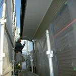 軒下屋根塗装①