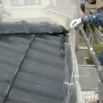 屋根塗装②縁塗装