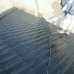 屋根塗装⑥上塗り