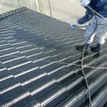 屋根塗装⑦上塗り
