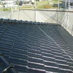 屋根塗装⑧上塗り後