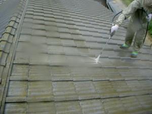 1.水洗い・下地処理