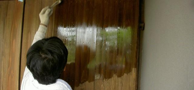 古民家の門を改装して趣ある外観に改装