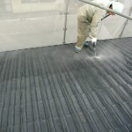 屋根洗浄①